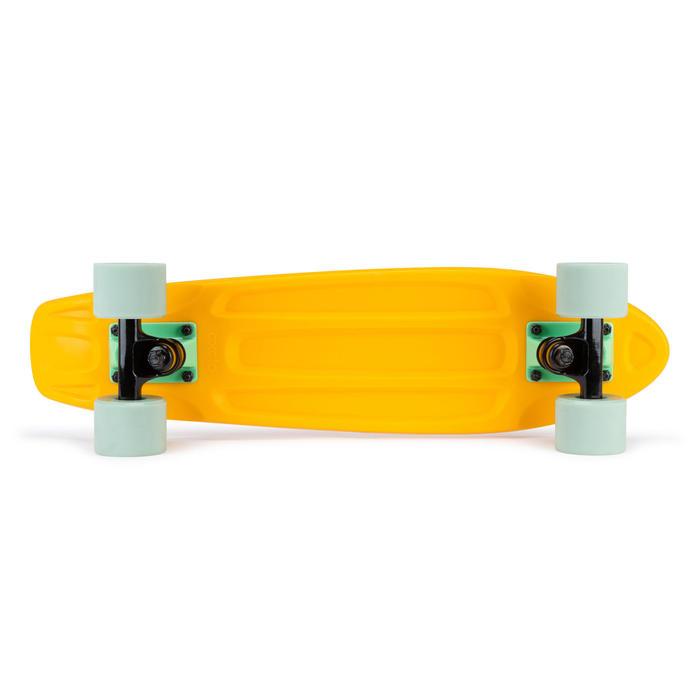 Cruiser skateboard Yamba 100 geel/groen