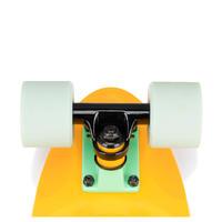 Cruiser Skateboard Yamba 100 - Yellow/Green