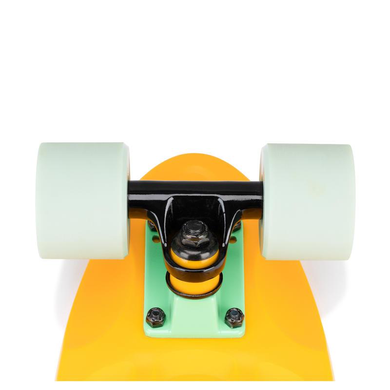 สเก็ตบอร์ดครุยเซอร์รุ่น Yamba 100 (สีเหลือง/เขียว)