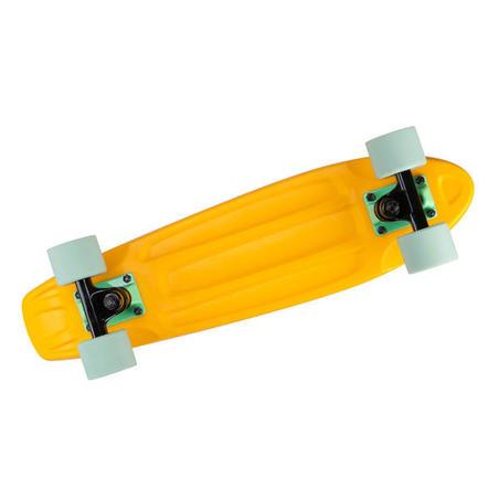 Yamba Skateboard Cruiser 100 - Kuning/Hijau