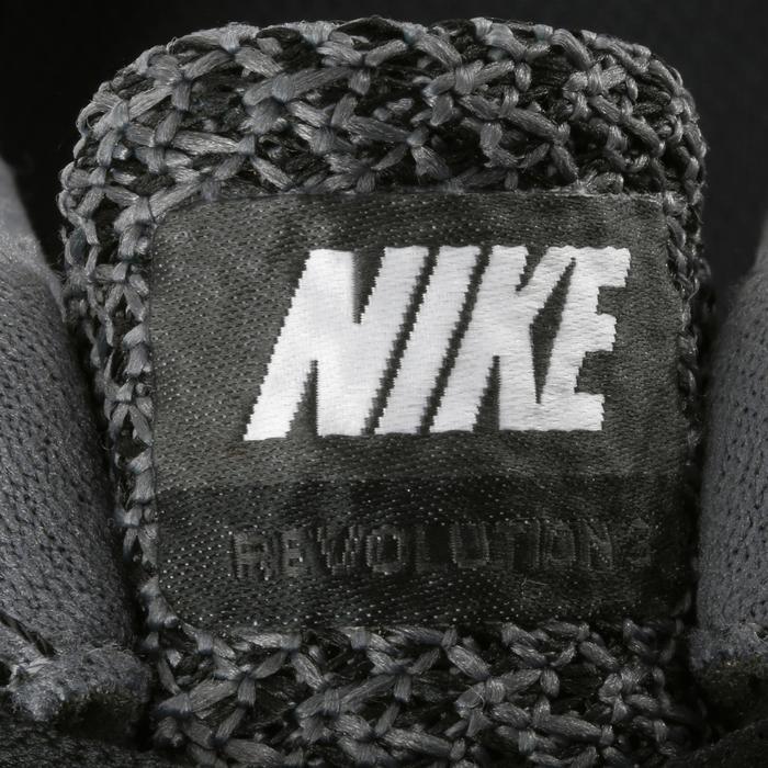 Chaussures marche sportive femme Revolution 3 noir / blanc - 182254