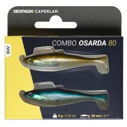Kunstaas voor zeevissen sardine Osarda 80 naturel