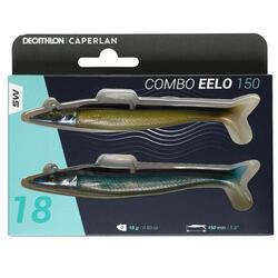 Softbait Combo Eelo 150 zandspiering 18 g naturel