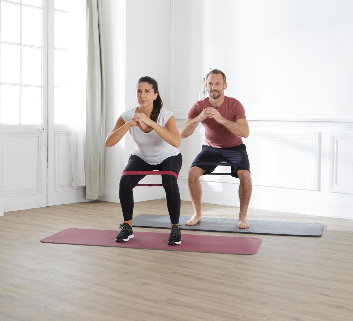 mini elastiques accessoires pilates