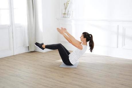 pilates à la maison
