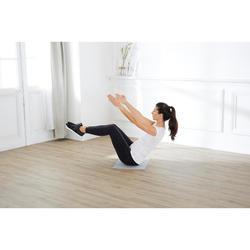 Pilates Mini Floor Mat - Grey/50 cm x 39 cm x 8 mm