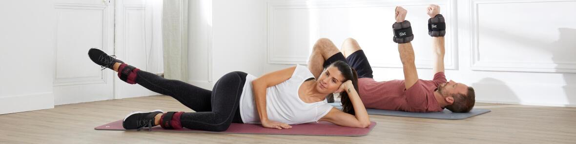 9 exercices avec des poids pour chevilles et poignets - Ma routine Fitness