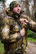 STALK CLOTHING COLD WEATHER Охота - Куртка вод. утепл. 900 FURTIV SOLOGNAC - Камуфляж