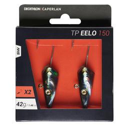 Darting jigkop voor zeevissen TP EELO 150 42 g