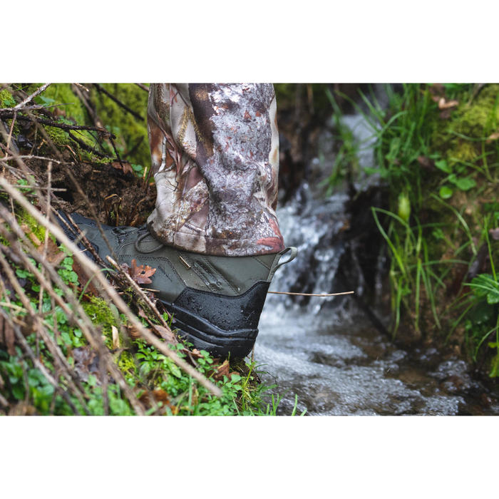 Chaussures chasse imperméables Crosshunt 100 vert