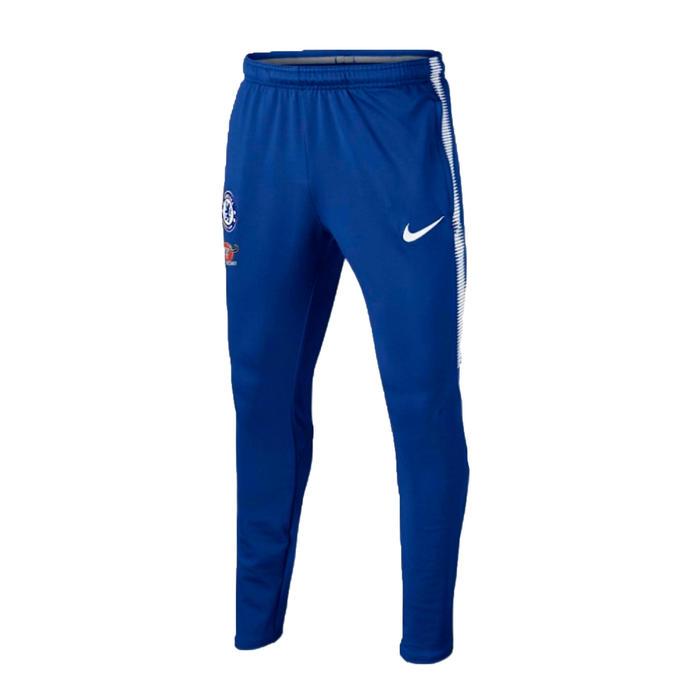 Pantalon d'entrainement de football adulte Chelsea bleu 17/18