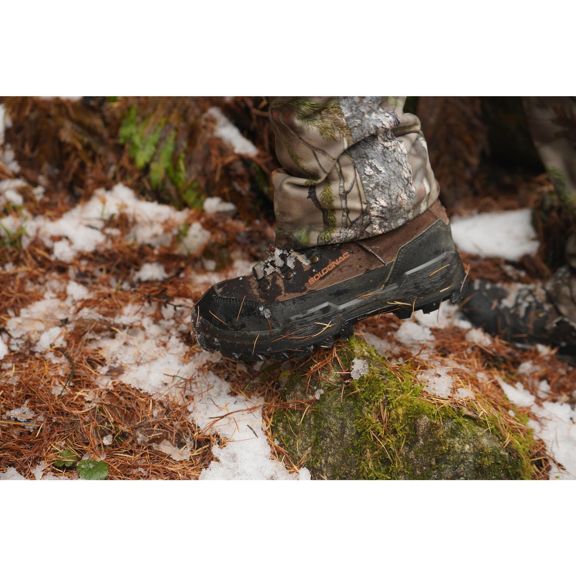 C500 Waterproof Hunting Boots - Brown