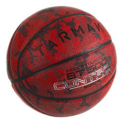 BT500 Kids' Size 5 Basketball - Camo/BurgundyGreat ball feel