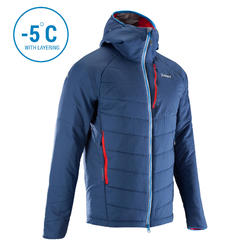 Men's Synthetic Quilt Insulated Jacket for -5 degrees.