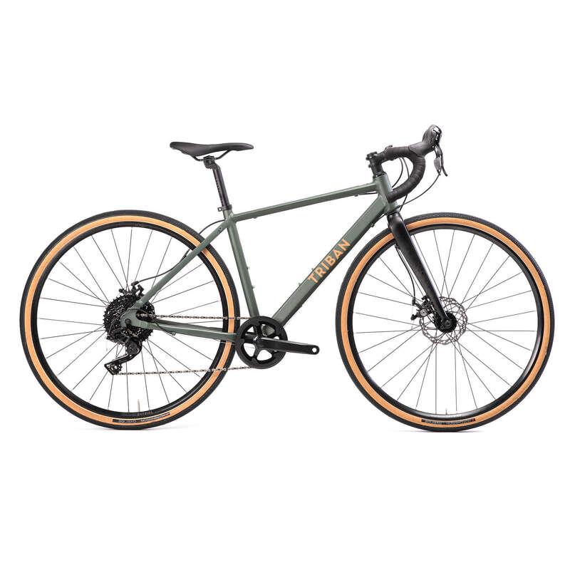 VELOS ROUTE FEMME Cykelsport - Gravelbike GRVLW120 dam TRIBAN - Landsvägscyklar
