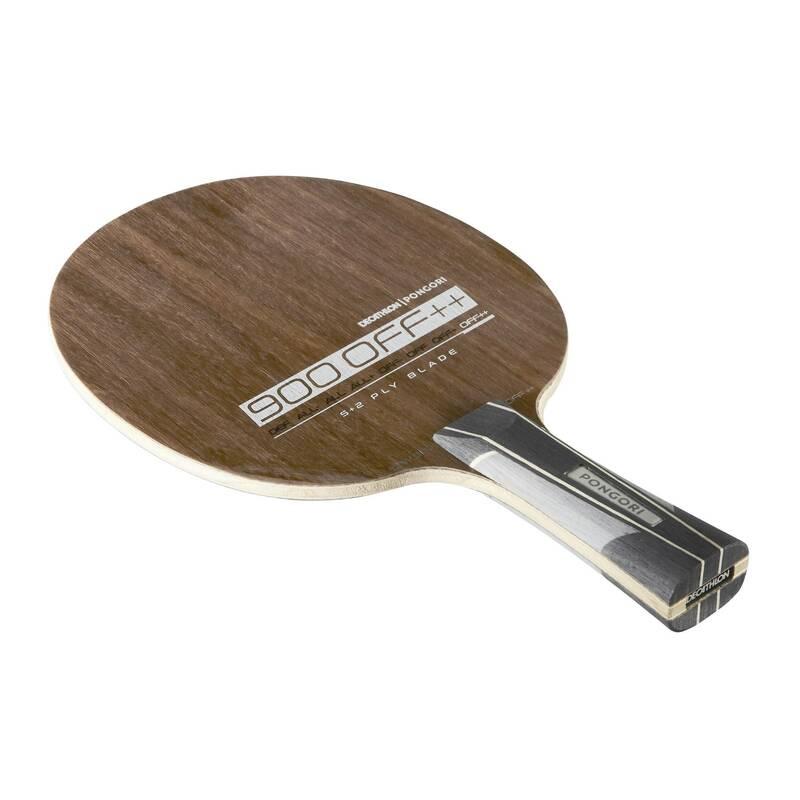 DŘEVA, POTAHY A DOPLŇKY NA STOLNÍ TENIS RAKETOVÉ SPORTY - DŘEVO TTW900 OFF++ PONGORI - Stolní tenis, ping pong