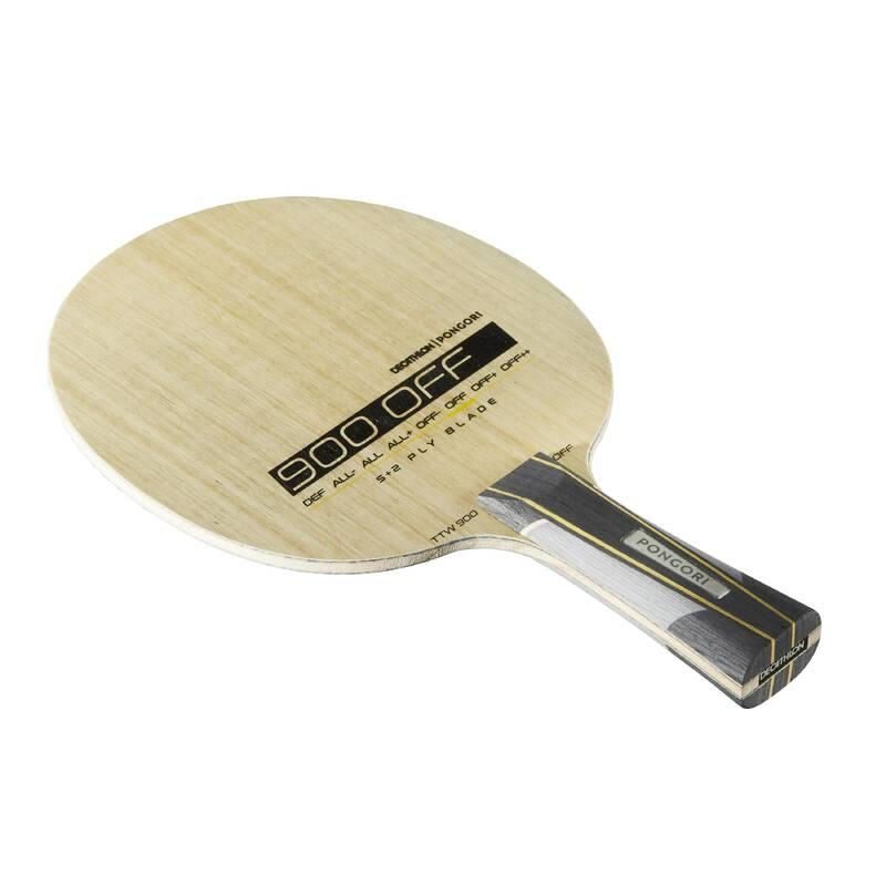 DŘEVA, POTAHY A DOPLŇKY NA STOLNÍ TENIS RAKETOVÉ SPORTY - DŘEVO NA PÁLKU TTW900 OFF PONGORI - Stolní tenis, ping pong