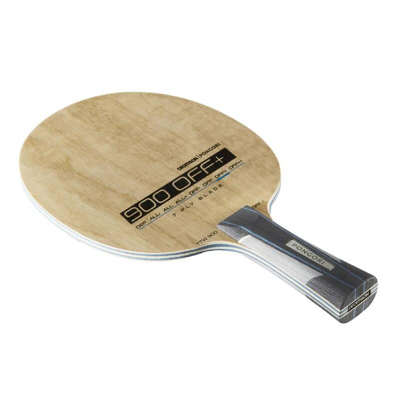 DŘEVA, POTAHY A DOPLŇKY NA STOLNÍ TENIS RAKETOVÉ SPORTY - DŘEVO TTW900 OFF +  PONGORI - Stolní tenis, ping pong