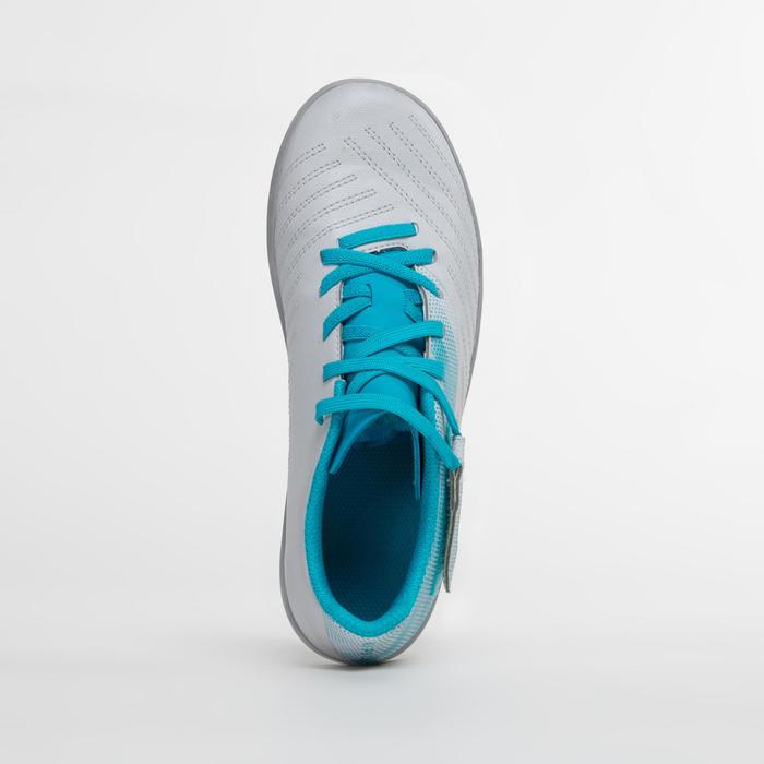 成人款硬地足球鞋Agility 140 - 淺灰色