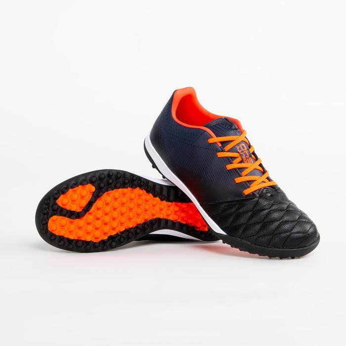 兒童款人造草足球鞋AGILITY 540 HG - 海軍藍配紅色