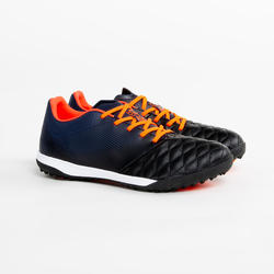 Kids' Hard Ground Football Boots Agility 540 HG - Navy/Red