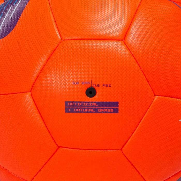 4號混合足球F500-紅色