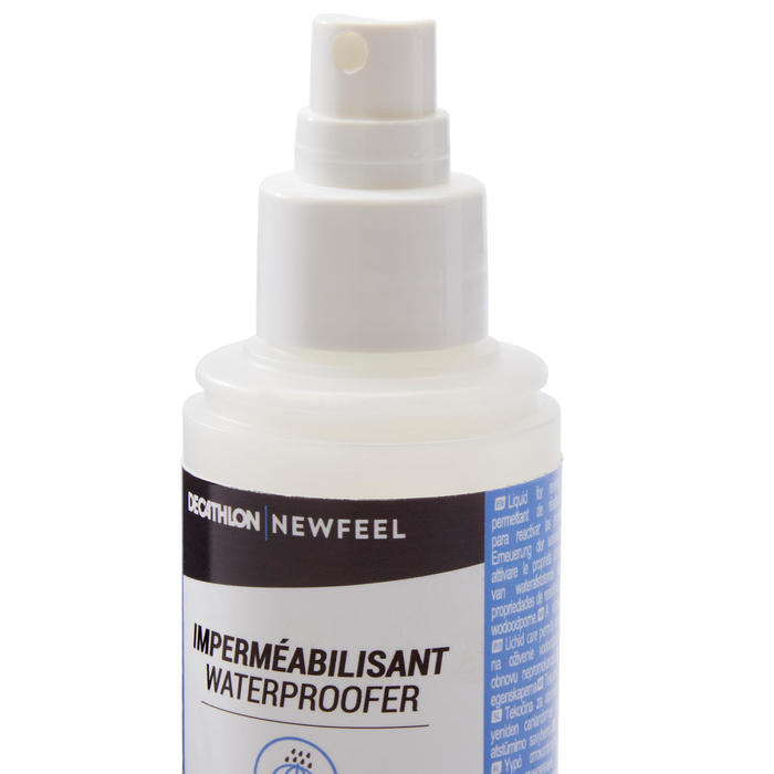 Imperméabilisant / anti-tâche cuir et textile chaussures marche Spray 100mL