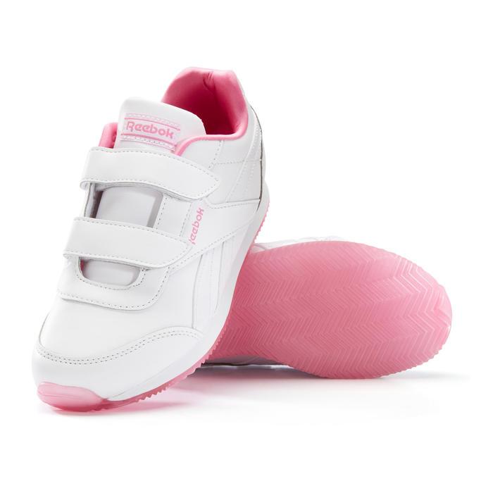 Kindersneakers voor wandelen Royal roze klittenband