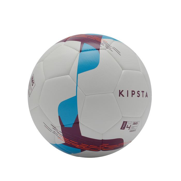Ballon de football Hybride F500 taille 4 blanc