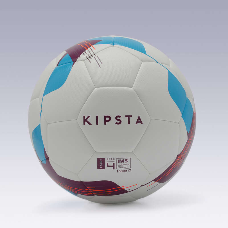 МЯЧИ/ КЛАССИЧЕСКИЙ ФУТБОЛ Футбол - Футбольный мяч F500 hybride р4 KIPSTA - Мячи