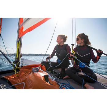 Dinghy 100 Sailing Trapeze Belt - Blue