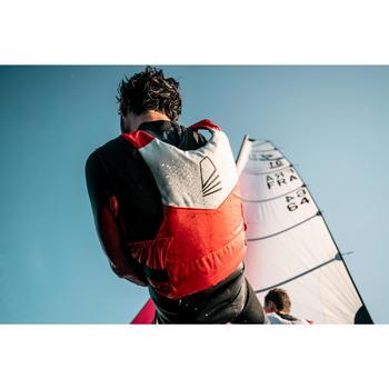 Zwemvest voor open boot zeilen 50 N 500 oranje