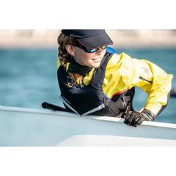 Windbestendige spraytop kinderen zeilen Dinghy 500 donkerblauw