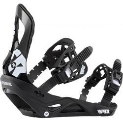 Snowboardbindingen Viper zwart