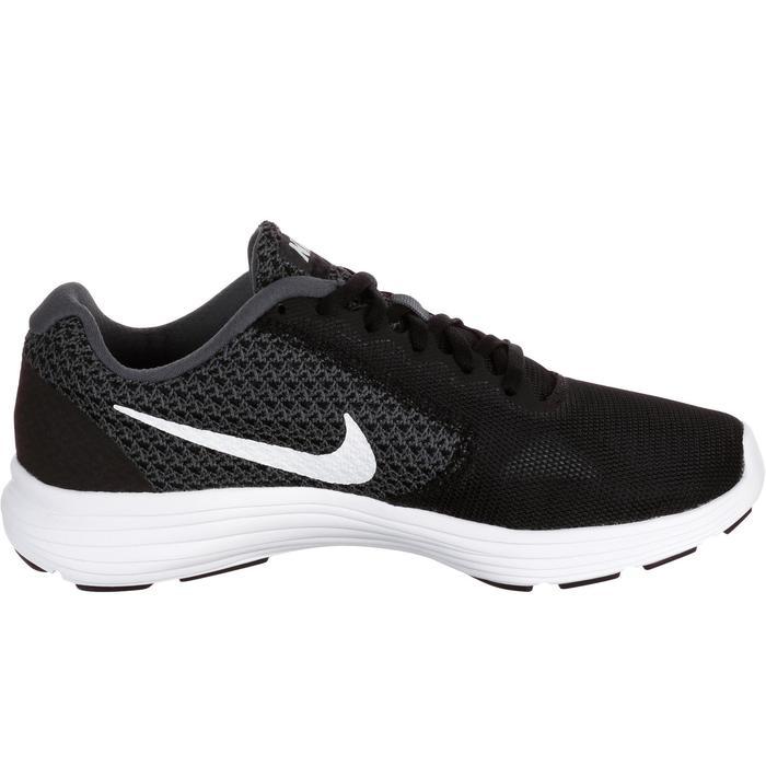 Chaussures marche sportive femme Revolution 3 noir / blanc - 182328