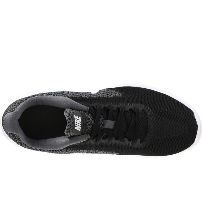 Chaussures marche sportive femme Revolution 3 noir / blanc - 182331