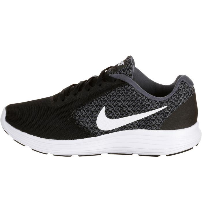 Chaussures marche sportive femme Revolution 3 noir / blanc - 182332