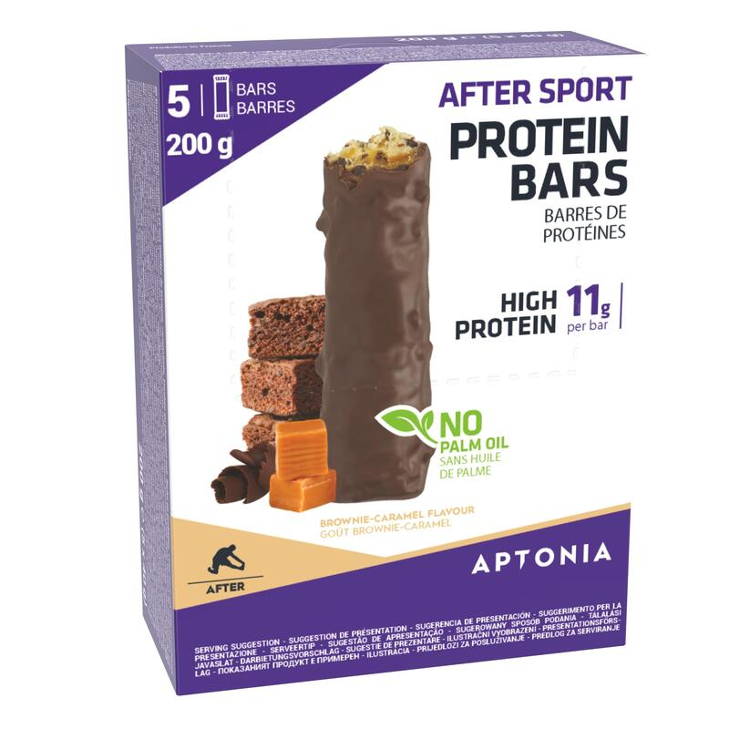 Eiwitrepen After Sport Brownies 5 x 40 g