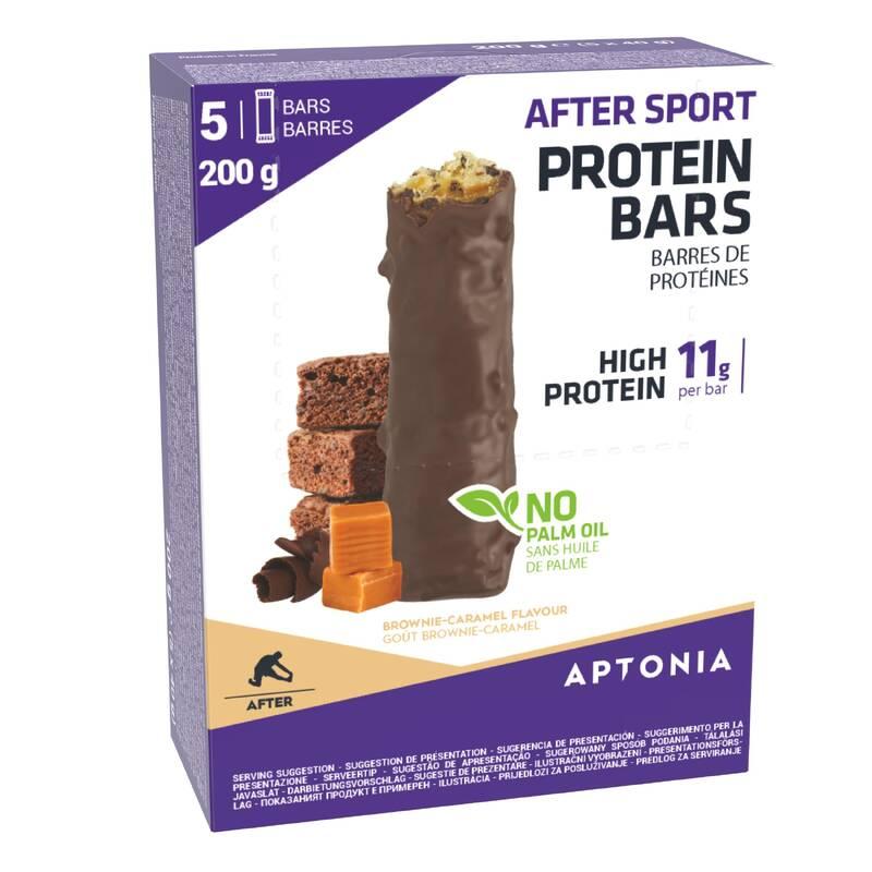 TYČINKY, GELY PO SPORTU Triatlon - PROTEINOVÉ TYČINKY BROWNIES APTONIA - Výživa a hydratace