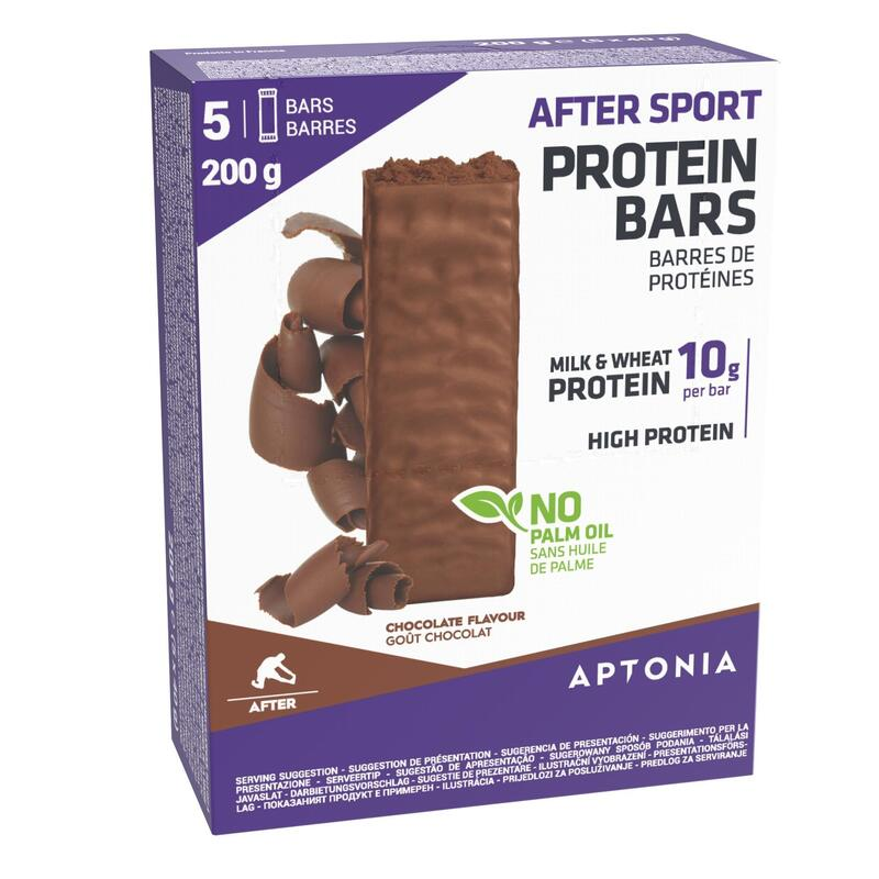 AFTER SPORT PROTEIN BAR 5X40 G - CHOCOLATE
