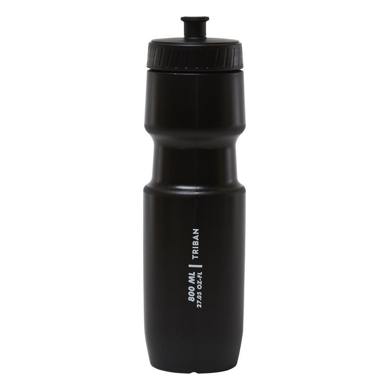 Botol Air L 800 ml SoftFlow - Hitam