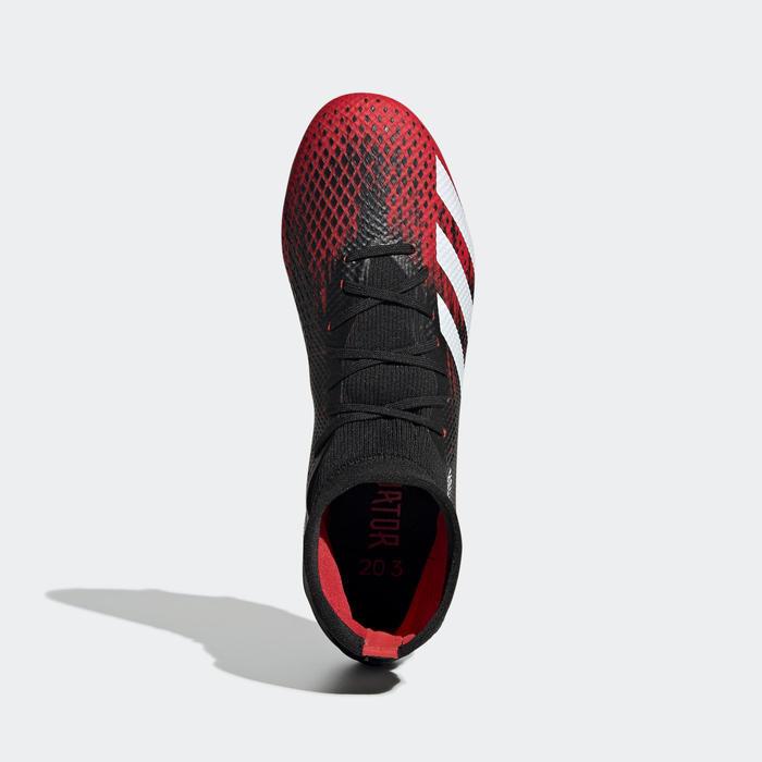 Adidas Predator 20.3 FG zwart/rood
