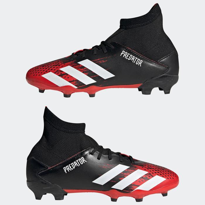 Voetbalschoenen voor kinderen Adidas Predator 20.3 FG zwart