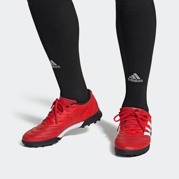 Chaussures de football Adidas Copa 20.3 HG adulte rouge