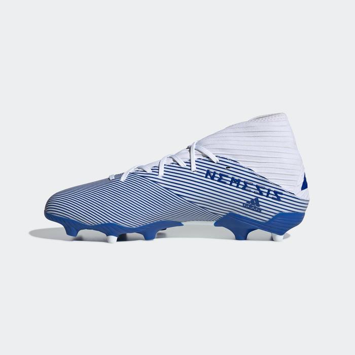 Chaussures de football Adidas NEMEZIZ.3 FG adulte blanc
