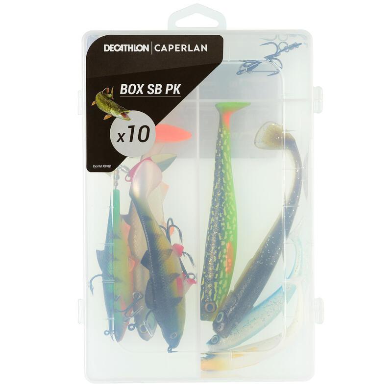 Señuelos Flexibles Pesca Con Señuelos BOXSB PK