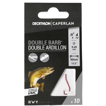 Hameçons pêche de la Truite SN HOOK double barb