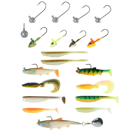LURE FISHING SOFT LURES BOXSB PRCH