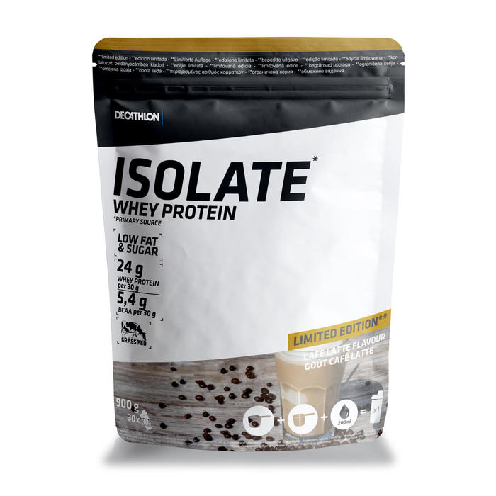 WHEY PROTEINE ISOLATE EDITION LIMITEE CAFE LATTE 900G