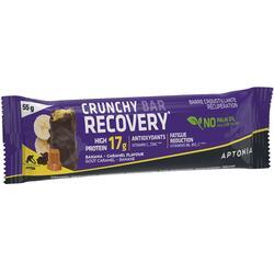 Barra crocante de recuperação CRUNCHY RECOVERY BAR 55g X Banana e Caramelo